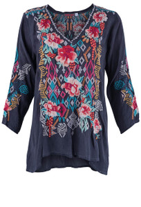 Johnny Was Women's Emmaline Blouse - Front