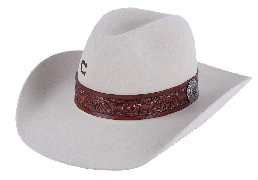 Charlie 1 Horse Bone Chief Hat - Side