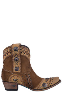 Lane Women's Tan Wind Walker Booties - Side