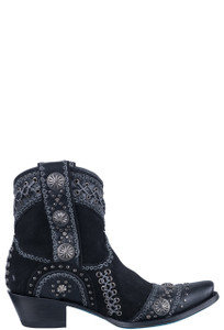 Lane Women's Black Wind Walker Booties - Side