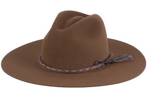 Stetson Chestnut Weltmeyer Hat - Side