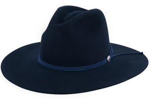 Stetson Navy Four Points Hat - Side