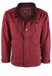 Madison Creek Blowing Rock Poplin Jacket - Front
