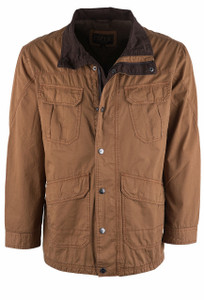 Madison Creek Copper Poplin Dalton Jacket - Front
