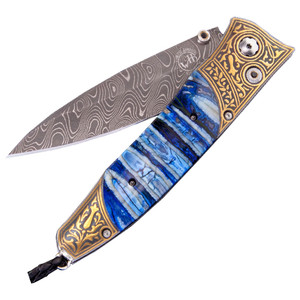 William Henry Gentac Antiquity Pocket Knife - Front