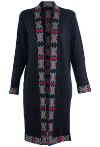 Paparazzi by Biz Women's Aztec Duster - Front