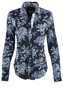 Cino Women's Black Toile Blouse - Front