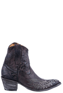 Old Gringo Women's Crystal Eagle Zipper Boots - Side