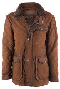 Madison Creek Sedona Goat Suede Jacket - Front