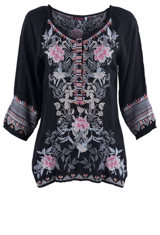 Johnny Was Women's Mari Blouse - Front