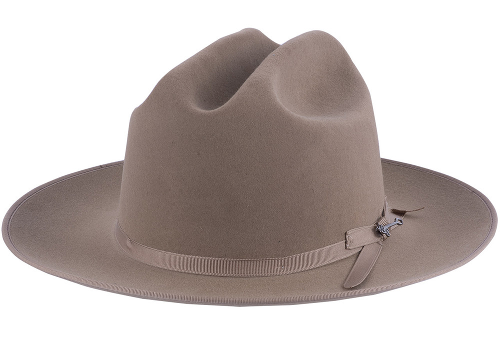 Stetson Open Road Fawn 6X Cowboy Hat - Front