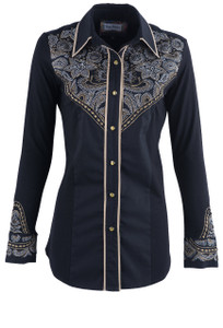 Vintage Collection Women's Buck Western Shirt - Front