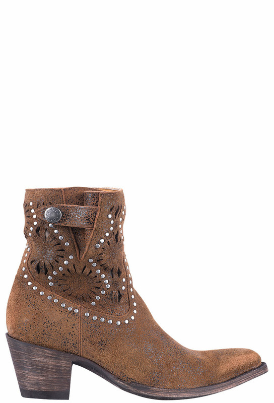 Old Gringo Women's Rust Reeve Short Boots - Side