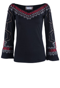 Vintage Collection Women's Star Lite Knit Top - Front