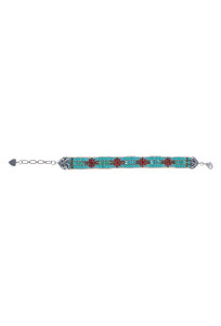 Peyote Bird Women's Mini Scrolls Bracelet - Front
