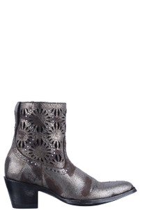 Old Gringo Women's Silver Reeve Short Boots - Side