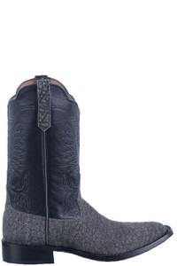 Rios of Mercedes Men's Granite Milan Elephant Cowboy Boots - Side