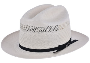 Stetson 10X Open Road Straw Hat - Side