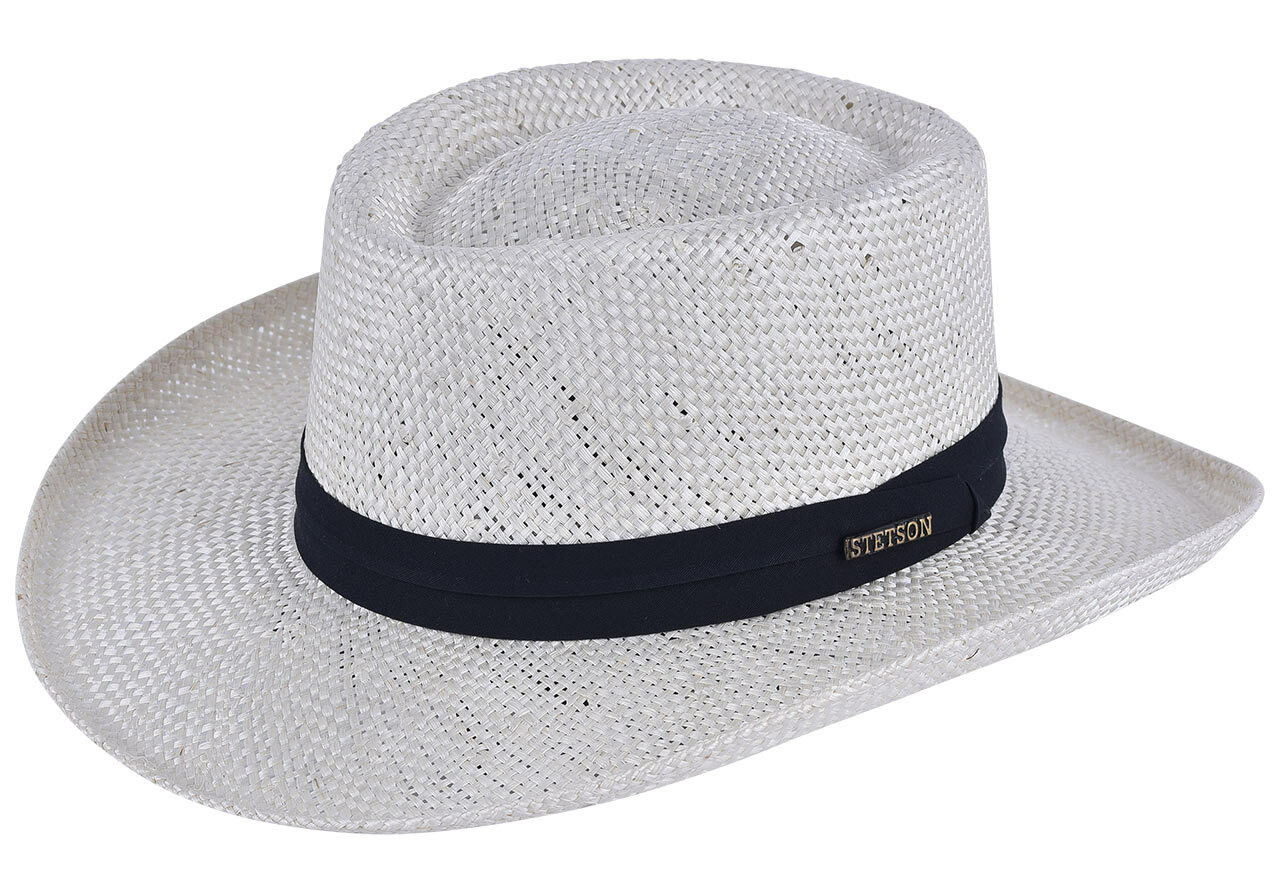 Stetson Muldoon Straw Hat Pecan L
