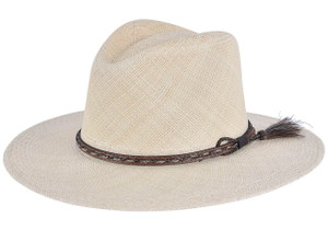 Stetson Weltmeyer Straw Hat - Side
