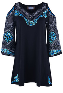Vintage Collection Willow Cold-Shoulder Tunic - Front