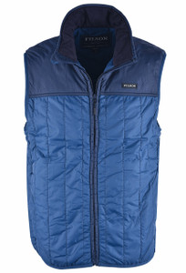 Filson Ultra-Light Vest – Blue - Front