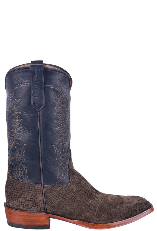 Rios of Mercedes Men's Chocolate Hippo Milan Boots - Side