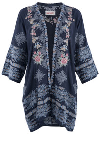 Driftwood Joelle Embroidered Kimono - Front