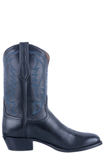 Tony Lama Signature Series Midnight Mont Blanc Boots - Side