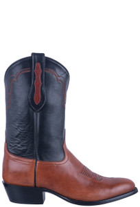 Tony Lama Signature Series Chianti Mont Blanc Boots - Side