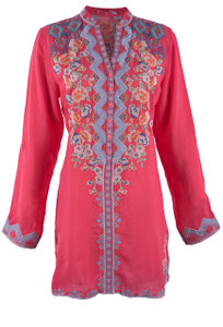 Johnny Was Harlow Tunic - Front