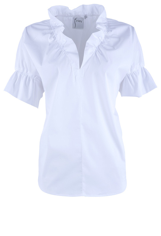 Finley Crosby Ruffle Top - Front