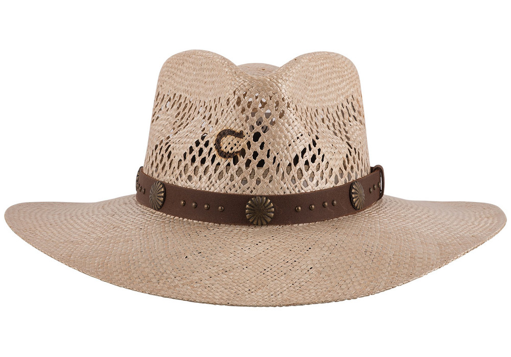 Charlie 1 Horse Hair Trigger Straw Hat - Front
