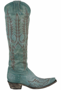 Old Gringo Women's Aqua Mayra Boots - Side