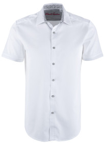 Robert Graham Andretti Shirt - White
