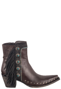 Double D Ranch by Old Gringo Brass Apache Kid Boots - Side
