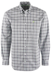 Cinch Men's Multi Check Plaid Shirt - Front