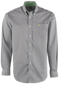 Cinch Men's Abstract Print Shirt - Front