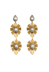 Christina Greene Royal Radiance Pearl Earrings