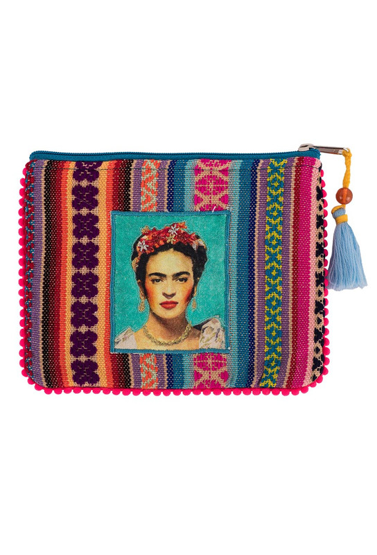 Karma Living Green Frida Coin Purse - Front