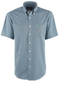 Cinch Men's Mini Diamond Print ArenaFlex Shirt - Front