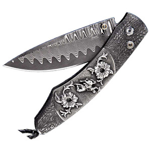 William Henry Spearpoint Ride Pocket Knife - Front