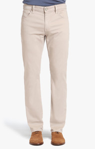 34 Heritage Men's Stone Twill Pants - Front