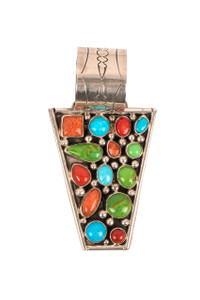 Rocki Gorman Multi Stone Point Pendant