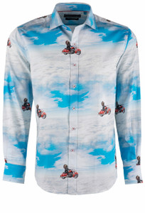 David Smith Rebel Wahoo Shirt - Front