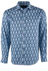 David Smith Regal Fresco Paisley Shirt - Front