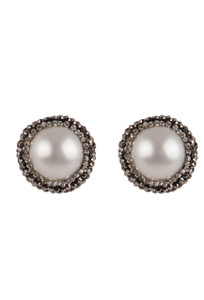 Ticklebutton Jewels Pearl Stud Earrings