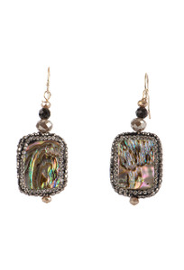 Ticklebutton Jewels Mother of Pearl Drop Earrings