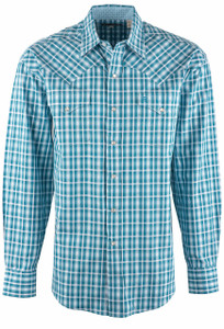 Stetson Cross Walk Ombre Snap Shirt - Front
