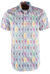 Robert Graham Spark Plug Short Sleeve Shirt - Front